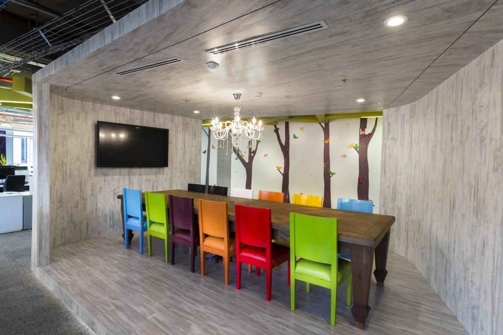 Arquitectura e interiores for Espacios de oficina